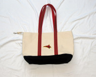 CHC Large Tote Bag in Red