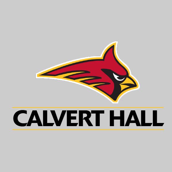 MD Flag Calvert Hall Twin Coverlet