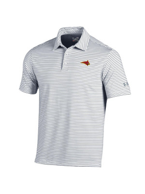 UA Men's Striped Playoff Polo
