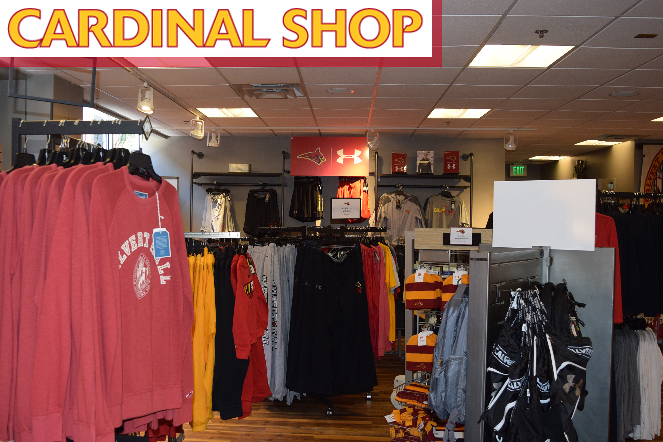 7dee349f6650 Calvert Hall - Cardinal Shop Home